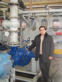 Happy Farzad with the prototype