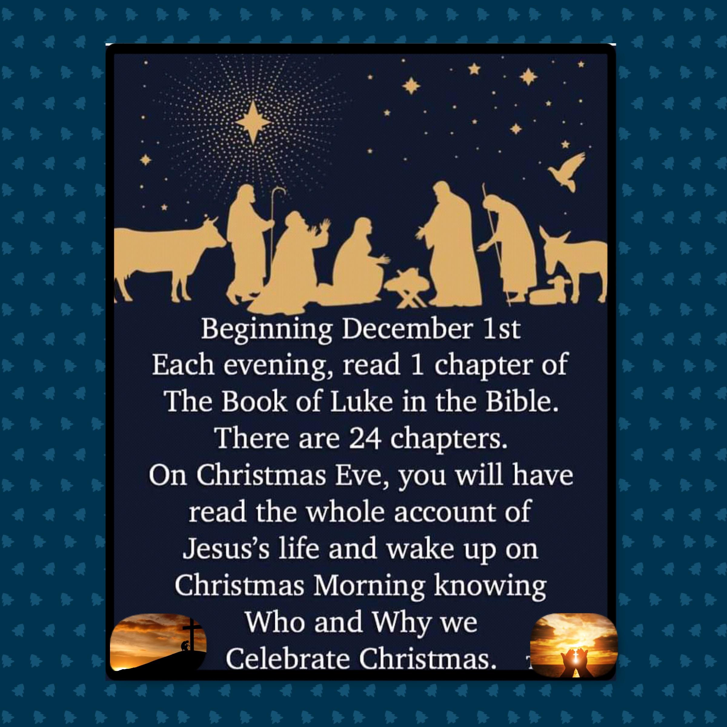 Beginning December 1st