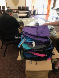 Packing of Bookbags for Belize 2020 (4).