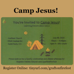 Camp Jesus 2021