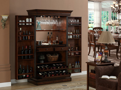 Angelina Wine Cabinet