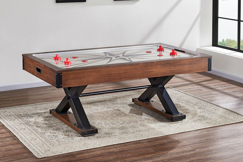Element Air Hockey Table in Pine