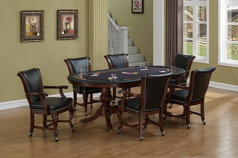 Royale 7-Piece Poker Table Set