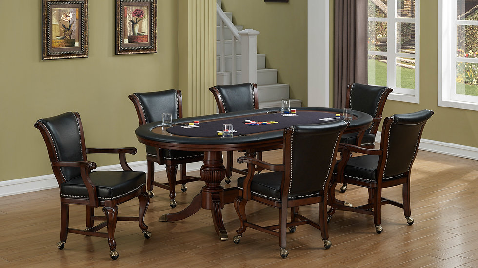 Royale 7-Piece Poker Table Set