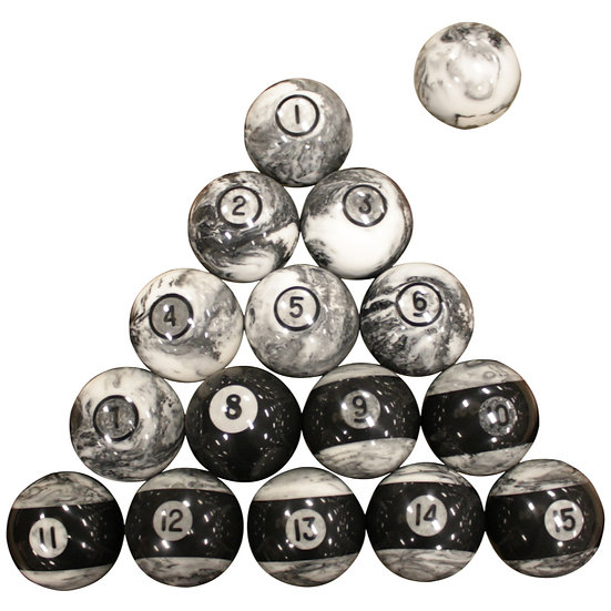 Stone Cold Billiard Ball Set