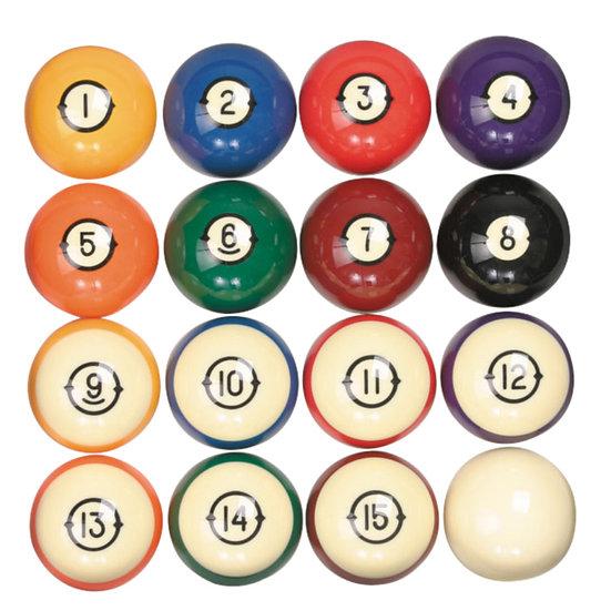 Heirloom Billiard Ball Set