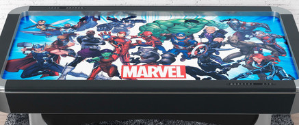 Marvel Universe Air Hockey