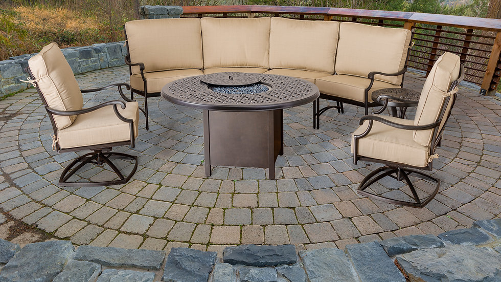 Apollo Fire Pit Seating Group