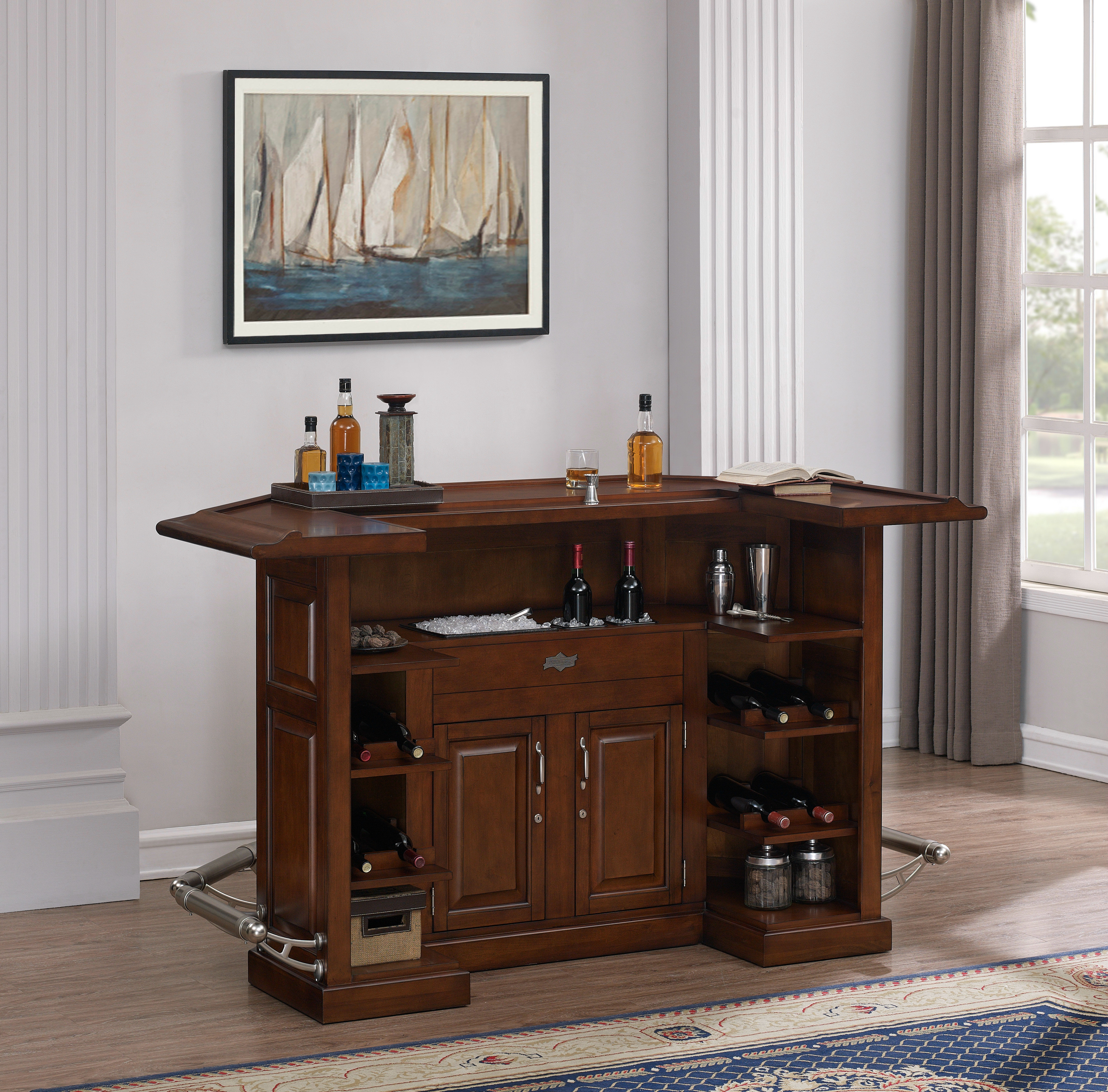 Camden Home Bar Pub Collection American Heritage Bi