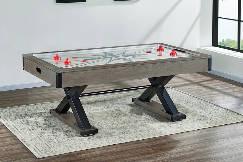 Element Air Hockey Table in Stone