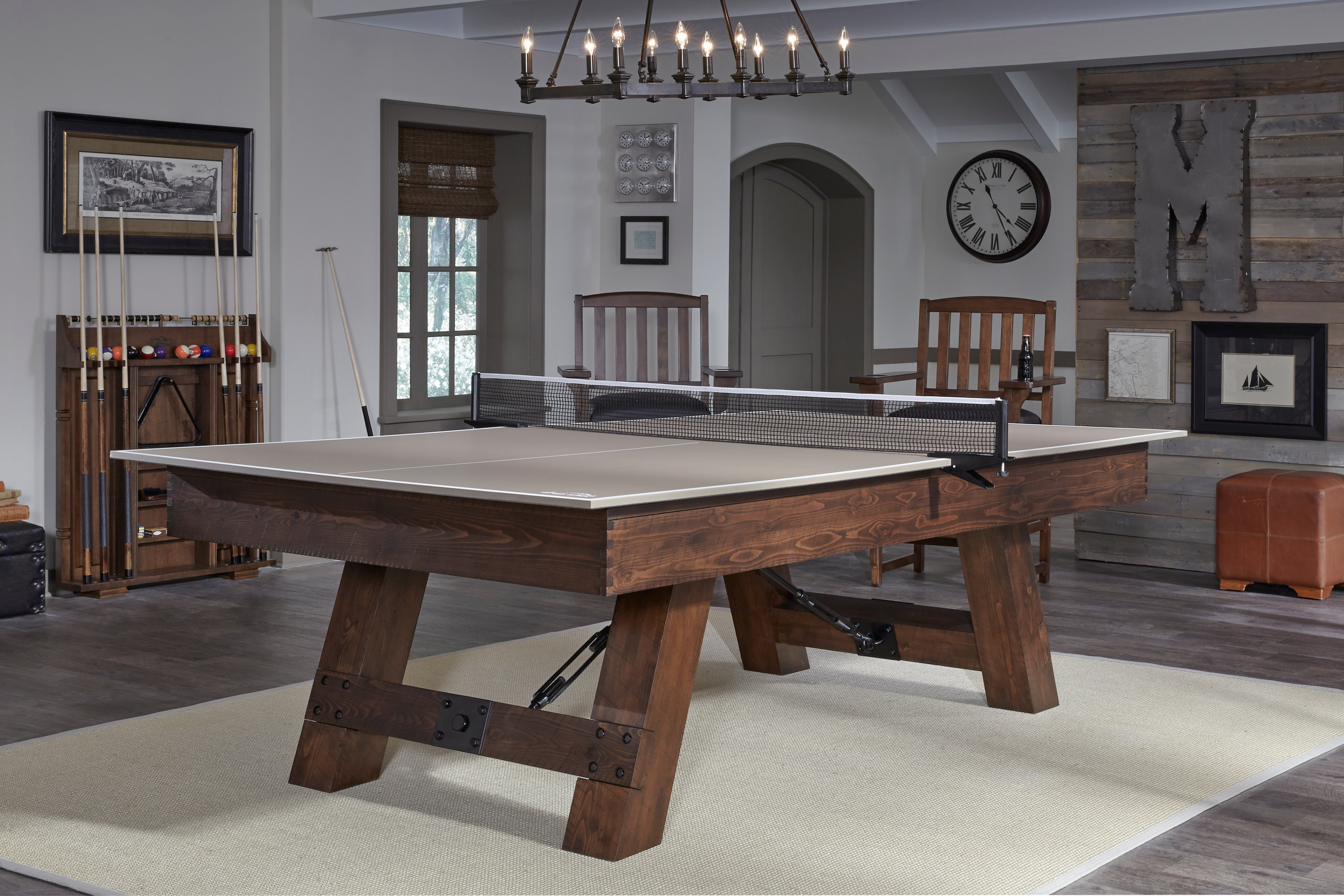 Table Tennis Conversion Top In Tan