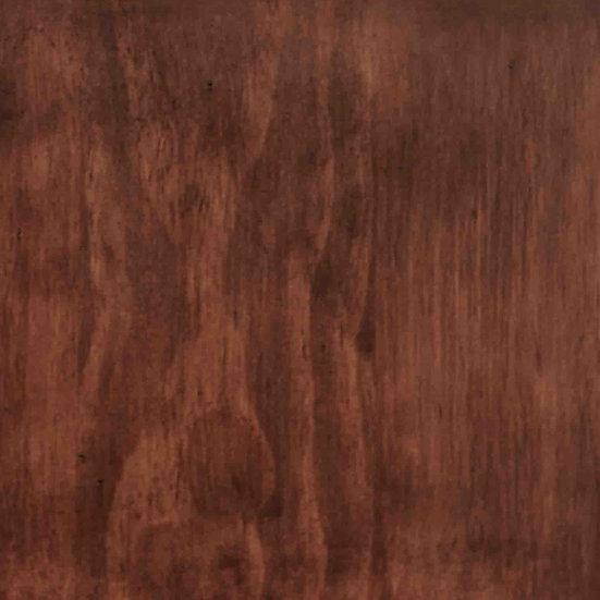 Mahogany Finish Sample