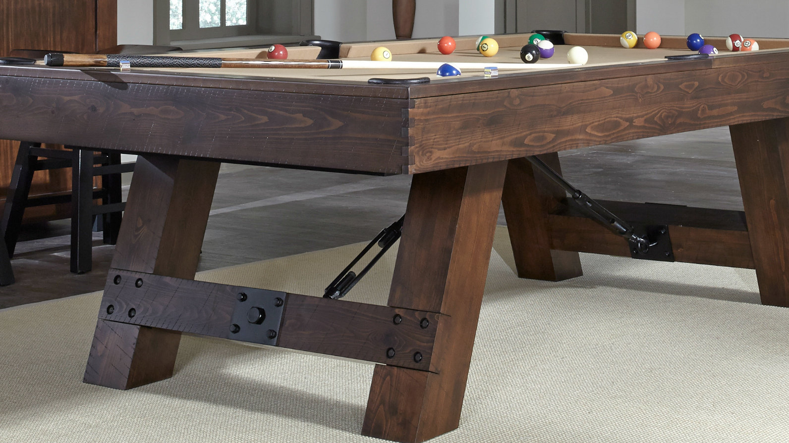 Astonishing Savannah Pool Table American Heritage Bi Home Interior And Landscaping Sapresignezvosmurscom
