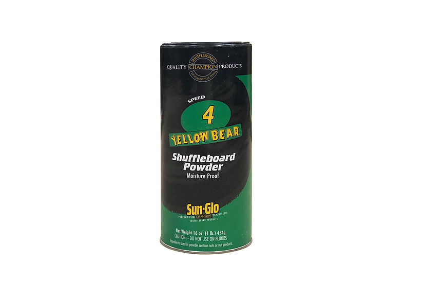 Shuffleboard Powder - Speed 4 Yellow Bear