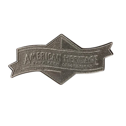 950300AH-S.1 Brushed Steel Banner Nameplate