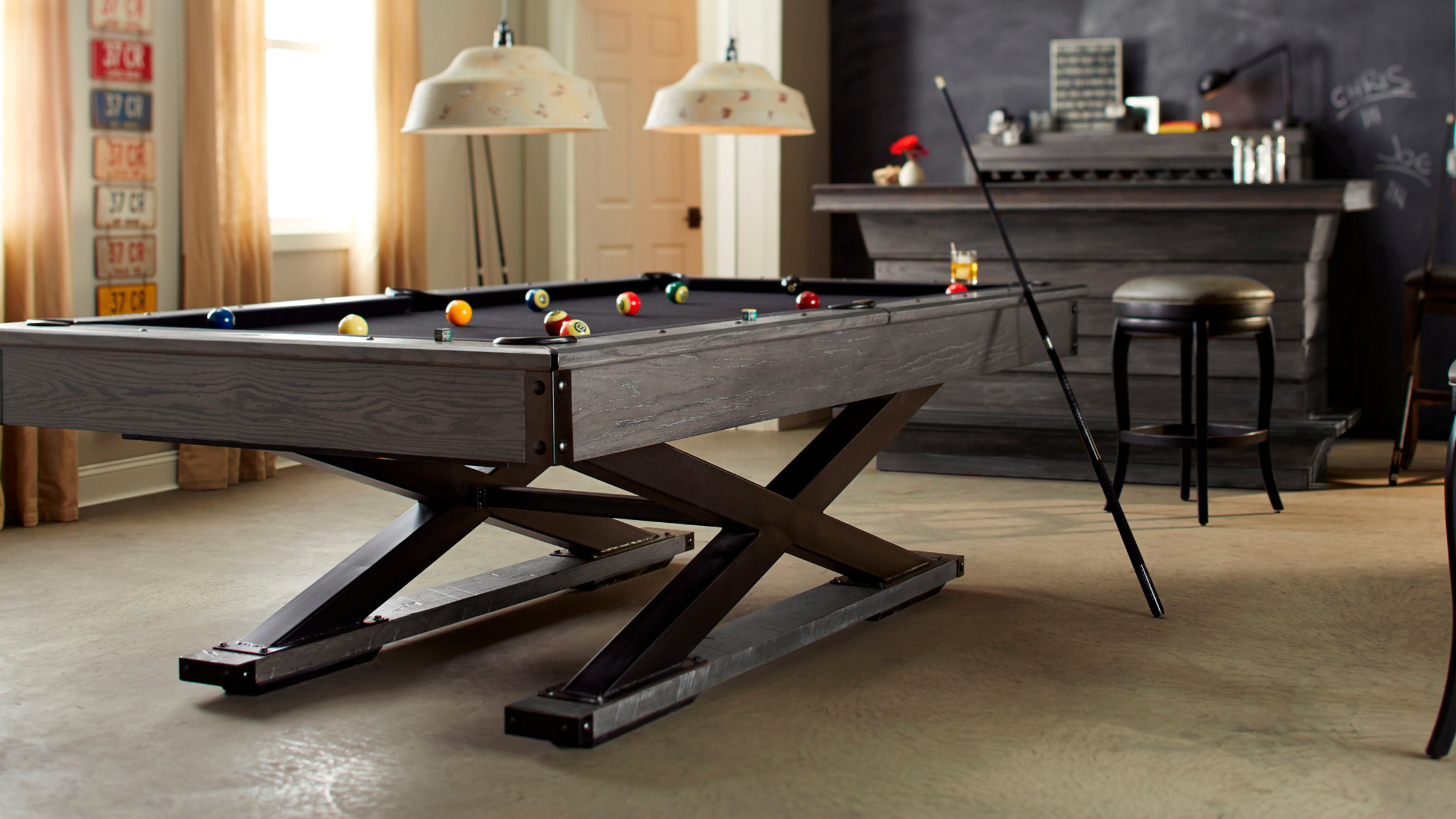 How To Install A Pool Table Slate Installation Home Billiards >> American Heritage Billiards High End Pool Tables Furniture Usa