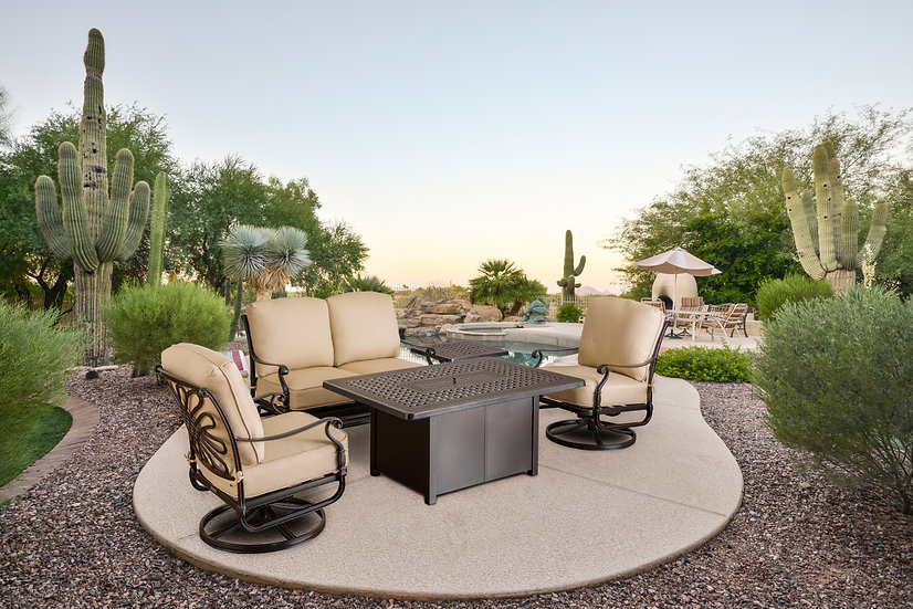Symphony Fire Pit Seating Group