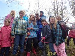 Girl Guides radio-tracking