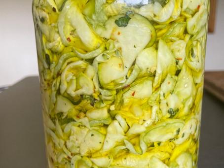 Zucchini in Oil