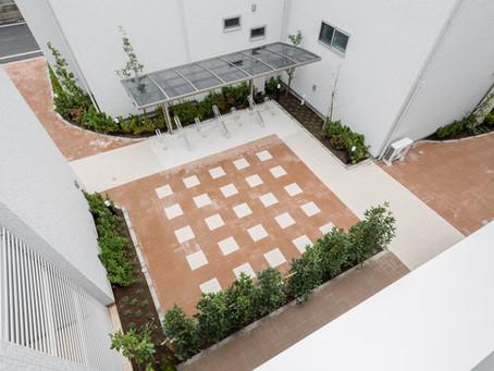中庭がもたらす、幸せ空間