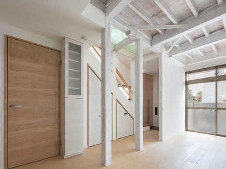 小さくても、明るく開放的になる、リノベーション住宅