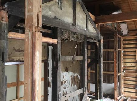 空き家活用プロジェクト 戦前の建物リノベーション工事