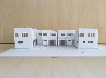 収納の家 模型