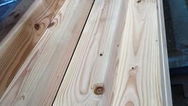 木材も、選んで決める。垂木を選定。