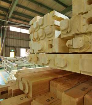 木材の加工(プレカット)