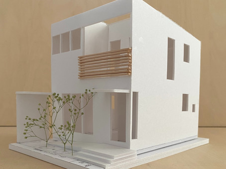 「四角い家:四角の家:キューブ型の家」住宅設計、はじまりました。