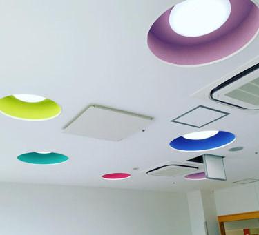 託児所の天井