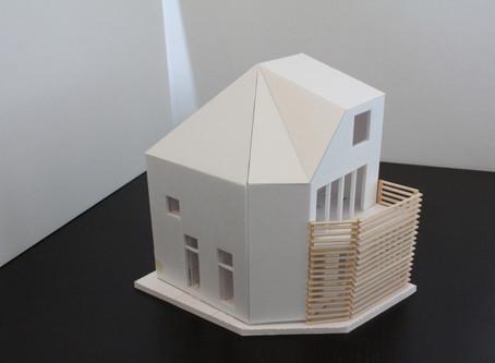 模型スタディから、住まいを考える01,02,03,04