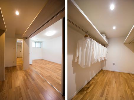 布団を仕舞う収納の確保、実は忘れがち。和室には押入れがあるけれど。