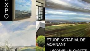 EXPOSITION DE RENTREE 2021 à l'office notarial de Mornant