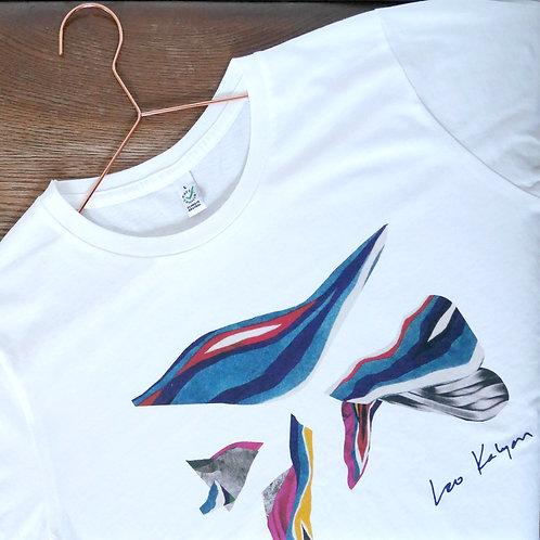 Leo Kalyan 'Waves' T-Shirt