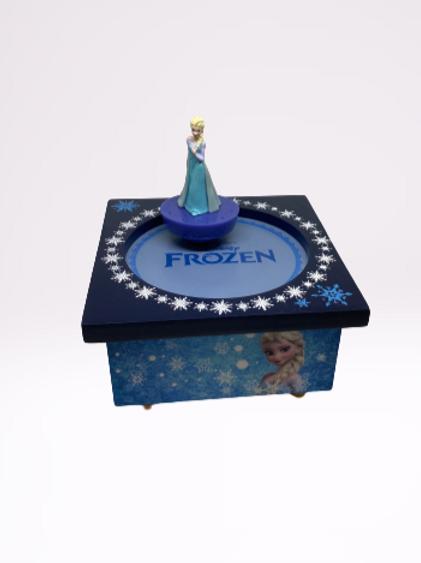 """Caixa de musica """"Frozen"""" Bailarino"""