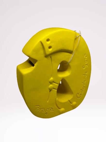 Mealheiro Farricoco em cerâmica (Amarelo)
