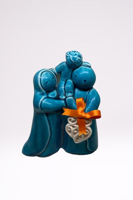 Sagrada Familia em cerâmica