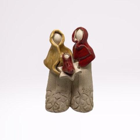 Presépio em cerâmica