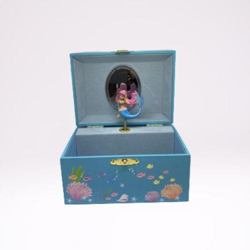 "Caixa de música ""Pequena sereia"""