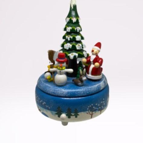 """Caixa de música """"Árvore de Natal"""""""