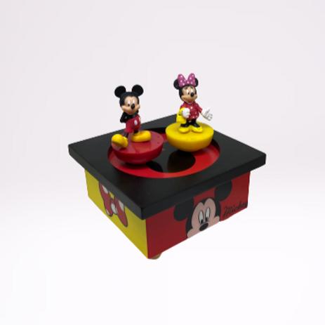 """Caixa de musica """"Mickey"""" Bailarino"""