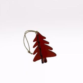 """Pinheiro de Natal de pendurar """"vermelho"""""""