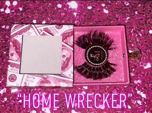 """Home-wrecker"" 3D mink lashes"