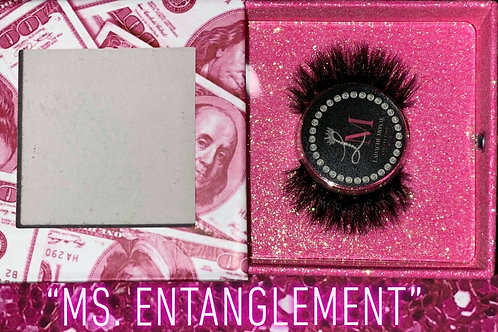 """Ms. Entanglement"" 3D Mink lashes"