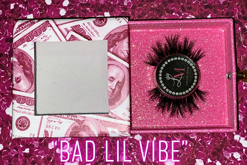 """Bad lil vibe"" 3D Mink lashes"