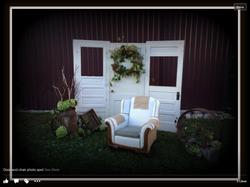 Door/chair photo op