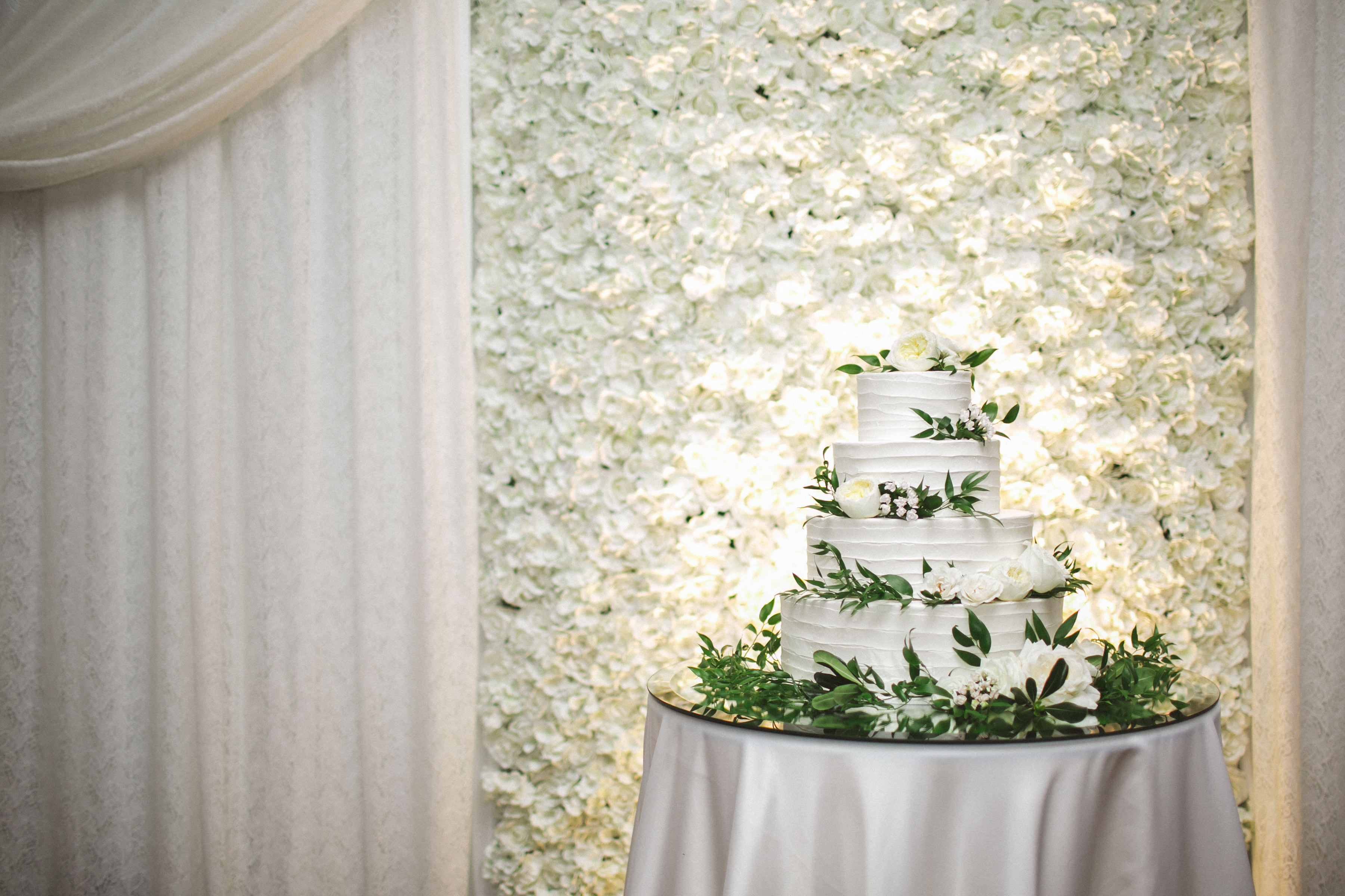 Blooming Romance Backdrop