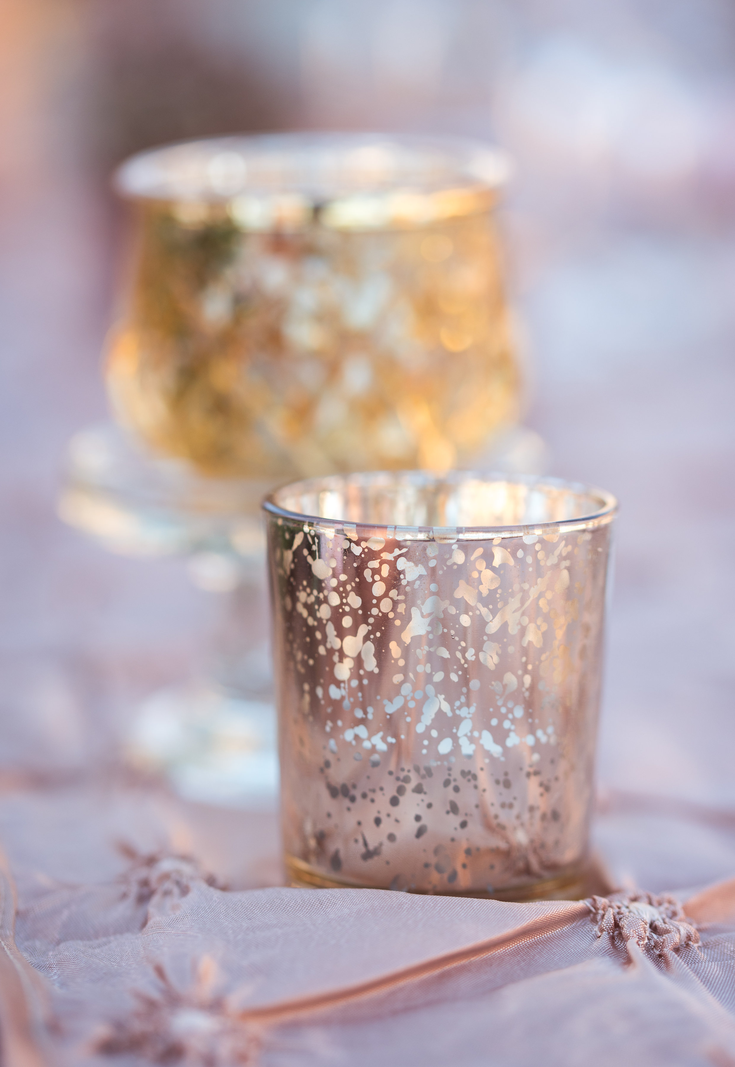 Rose Gold Votive/Tea Light