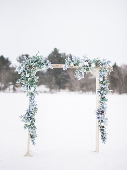Snow Frosted Arch